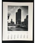 JULIUS SHULMAN Photograph 11x14 Lithograph Portfolio Print Marina City, ... - $23.19