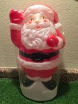 """NOS Vintage Christmas 18"""" Empire Waving Santa Table/Yard Lighted Blow Mo... - $158.39"""
