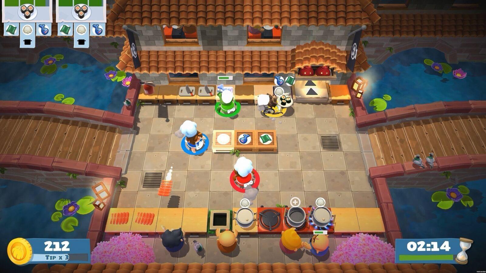 Overcooked! 2  Nintendo Switch NEW! image 6