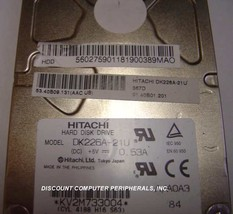 Hitachi DK226A-21U 2.1GB 2.5 inch 12.5MM IDE Drive Tested Good Free USA ... - $69.00