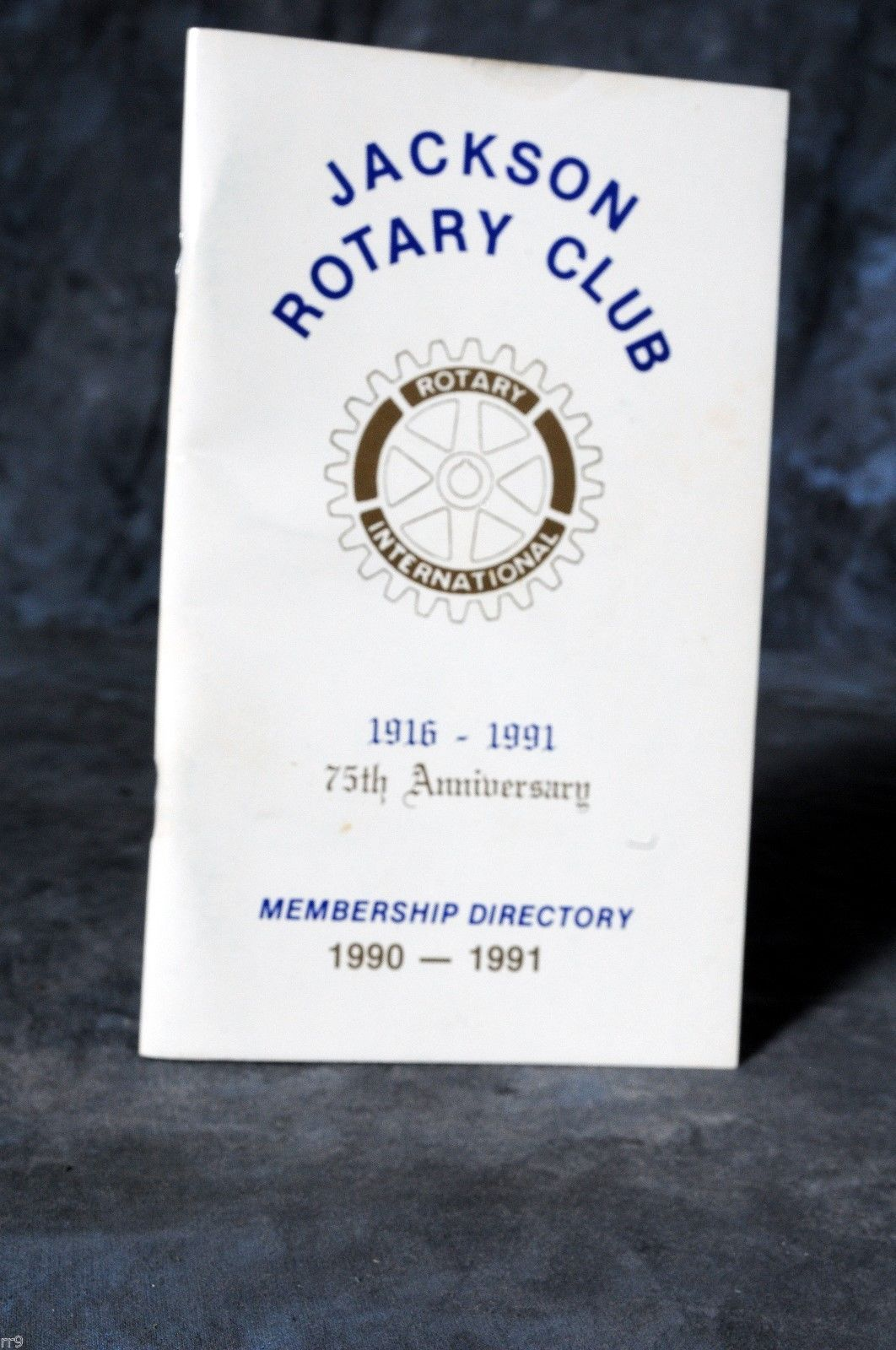 Primary image for 1990-1991 Jackson Tennessee Rotary Club Photo Membership Roster Directory