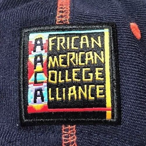 Primary image for African American College Alliance Snapback Hat Virginia Cap Black HBCU Hip-Hop