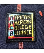 African American College Alliance Snapback Hat Virginia Cap Black HBCU H... - $69.99