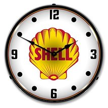 1948 Shell Gasoline Lighted Wall Clock - $129.95