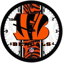 "Cincinnati Bengals LOGO Homemade 8"" NFL Wall Clock w/ Battery Included - $23.97"