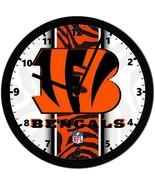 "Cincinnati Bengals LOGO Homemade 8"" NFL Wall Clock w/ Battery Included - $23.97"