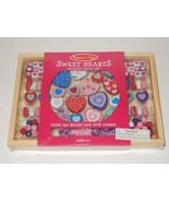 Melissa & Doug Sweet Hearts Wooden Bead Activity Set SEALED - $9.49