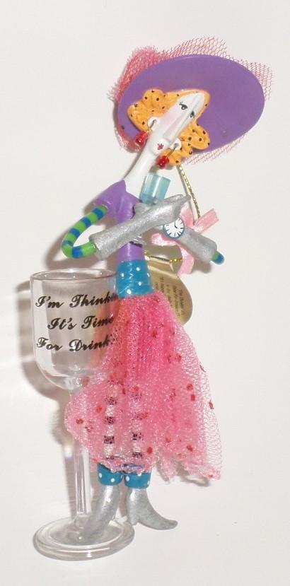 Ashton Drake Dolly Mamas 2009 tree ornaments set 3 Its Happy Hour Somewhere