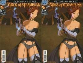 Victorian Secret: Girls of Steampunk (2011) Antarctic Press Comics - 2 Comics - $18.52