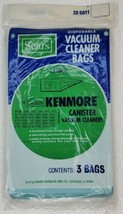 Kenmore 20-5001, 5011 Type P Vacuum Cleaner Bags Sears Canister Style Va... - $12.73