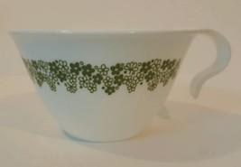Spring Blossom Crazy Daisy Corelle Corning White Green Flowers Mug Hook ... - $9.49