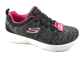 Skechers 12965 Black/Hot Pink Memory Foam Slip On Sneakers - $69.00