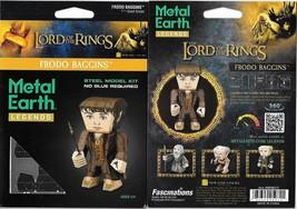 Lord of The Rings Frodo Metal Earth Legends 3-D Laser Cut Steel Model Ki... - $11.60