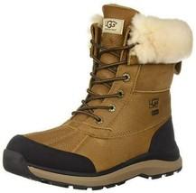 New Women's UGG Adirondack III Chestnut Waterproof Shearling Wool Boots US 10 image 1