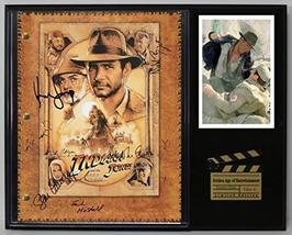 "Indiana Jones Ltd Edition Reproduction Signed Cinema Script Display ""C3"" - $85.45"