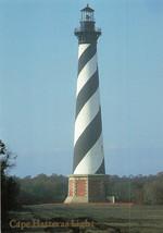 Cape Hatteras Light 1870 Tallest In North America Unused Unposted Postcard - $15.47