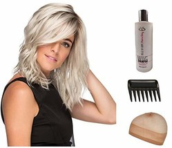 AVALON Front Lace Wig by Estetica 5 Piece Bundle: Wig, Wig Liner, Wide T... - $259.95
