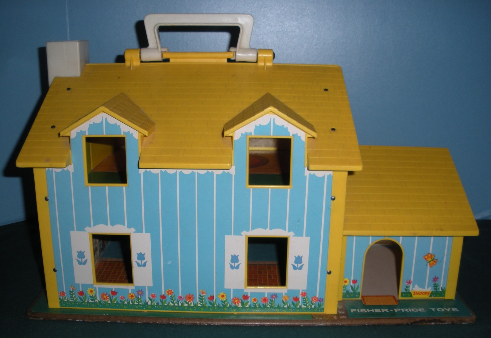Vtg. Fisher Price Play Family #952 Yellow House Comp.w/Box /EXC++-NEAR MINT! (M)