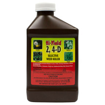 2, 4-D Broadleaf Weed Killer Herbicide Lawn Ponds Drainage Ditch 1 Qt Ma... - $23.99