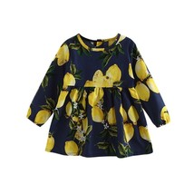 (picture show size 6)2017 New Spring 1-6Y Baby Girls Long Sleeves Floral... - $28.00