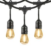 48' LED Decorative Filament String Light Set Indoor/Outdoor Weatherproof... - €57,54 EUR