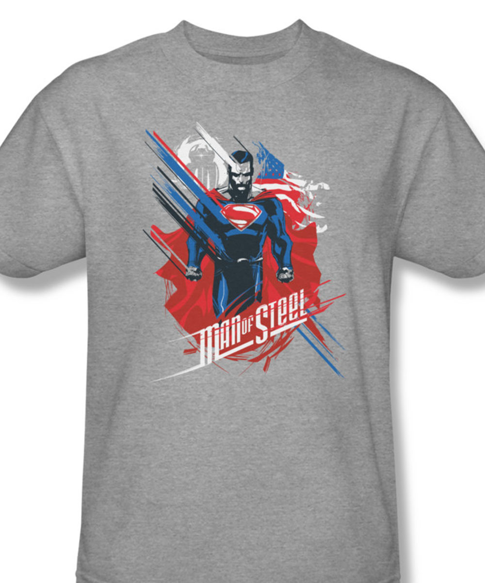 61e45048c 084 at superman tee man of steel dc comics superhero for sale online graphic  heather gray