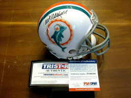 PAUL WARFIELD SB PERFECT SEASON MIAMI DOLPHINS HOF SIGNED AUTO MINI HELM... - $118.79