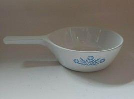 Corning Ware Blue White Cornflower P-81-B Skillet Pan Dish 1 Pint Vintage No Lid - $14.84
