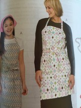 Kwik Sew Sewing Patterns 3480 Adults Childrens Aprons Scarf Size S-XL New - $14.85