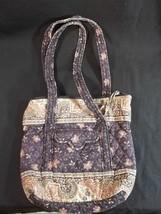 Vera Bradley Black Walnut Shoulder Bag Purse Re... - $9.89