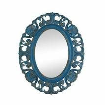 Vintage Belle Blue Mirror - $62.06