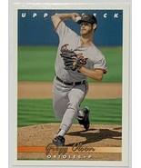 1993 Upper Deck #674 Gregg Olson Baltimore Orioles Baseball Card - $2.93