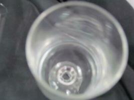 """Lot of 2 Mikasa Crystal Footed Clear Cut Stem 6 7/8"""" Champagne image 4"""