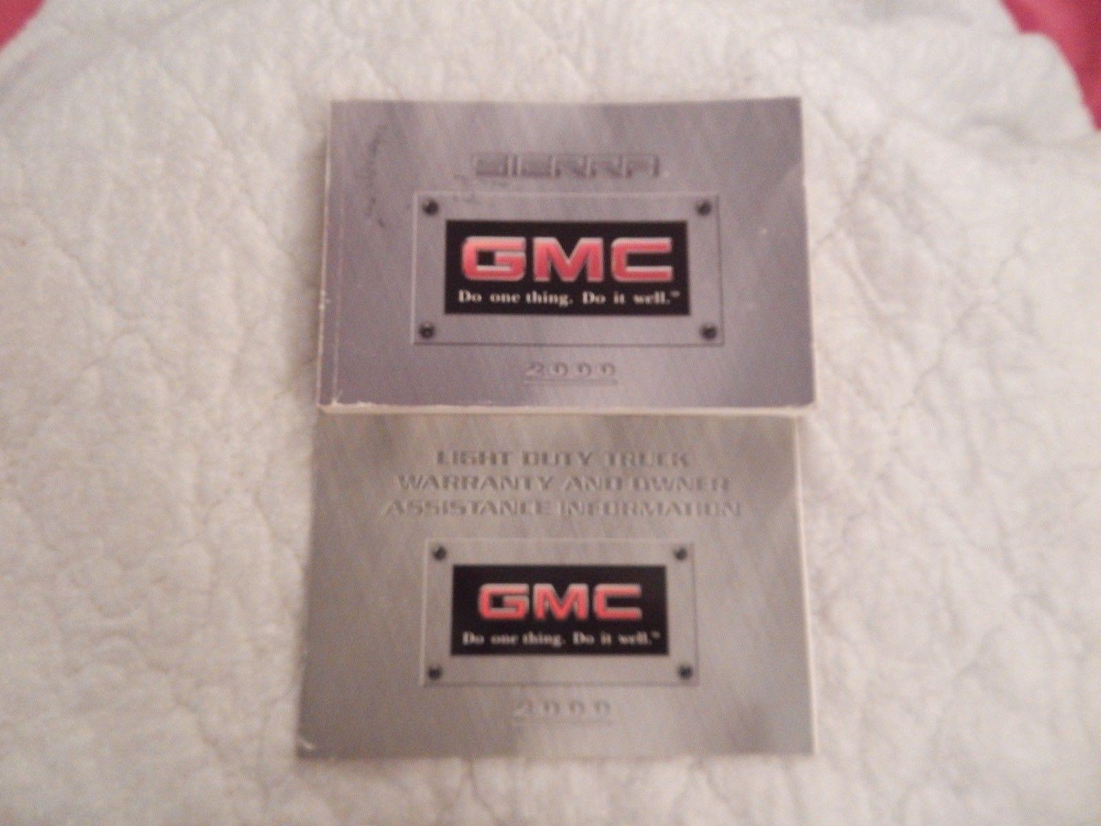 2000 gmc sierra owners manual with binder and similar items rh bonanza com 2005 GMC Sierra 2002 GMC Sierra