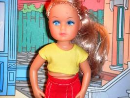 Long Blonde Hair Doll Skippers Friend wearing Pink Dress fits Barbie Ski... - $5.93