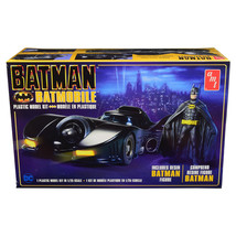 Skill 2 Model Kit Batmobile with Resin Batman Figurine Batman (1989)  1/... - $61.28