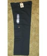 Dickies Boys Navy School Uniform 8H Flexwaist Casual Fit Double Knee 29x... - $14.80
