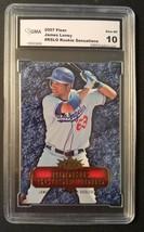 James Loney 2007 Fleer Rookie Sensations #RS-LO Graded GMA 10 LA Dodgers Cards - $3.09