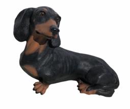 1989 Homco Dachshund Dog Figure #886 Very Lifelike Realistic Wiener Stat... - $24.81