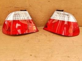 04-06 BMW E46 M3 325Ci 330Ci Coupe 2dr LED Taillight Tail Lights Set L&R image 2