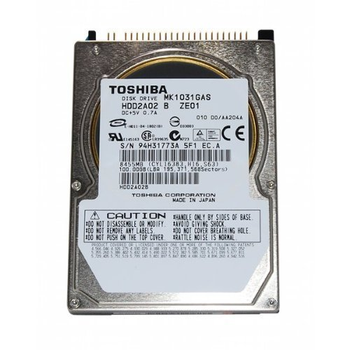 "100GB 2.5"" 9.5mm  IDE 44pin Hard Drive Toshiba MK1031GAS NEW"