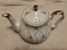 San Francisco Music Box Company usable teapot English made WORKS approx ... - $35.00