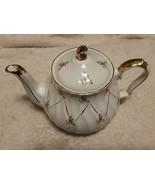 San Francisco Music Box Company usable teapot English made WORKS approx ... - $35.00