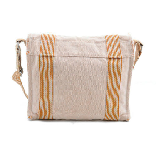HERMES Ale Line Vasus PM Canvas Shoulder Bag Auth 3267 image 3