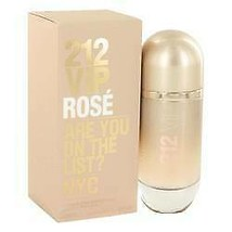 212 Vip Rose Perfume By  CAROLINA HERRERA  FOR WOMEN  2.7 oz Eau De Parf... - $76.40