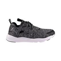 Reebok Furylite Jersey Womens Shoes Black-White AR3040 - $69.95