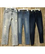Levi's Bluespice Girls Girlfriend Jeans Skinny Size 12 Reg Medium Lightwash - $26.72