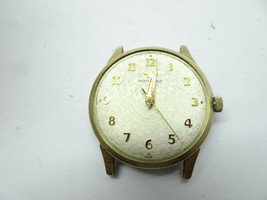 VINTAGE WITTNAUER 11WSG GOLD FILLED BEZEL WATCH RUNS FAST FOR RESTORATION - $188.67
