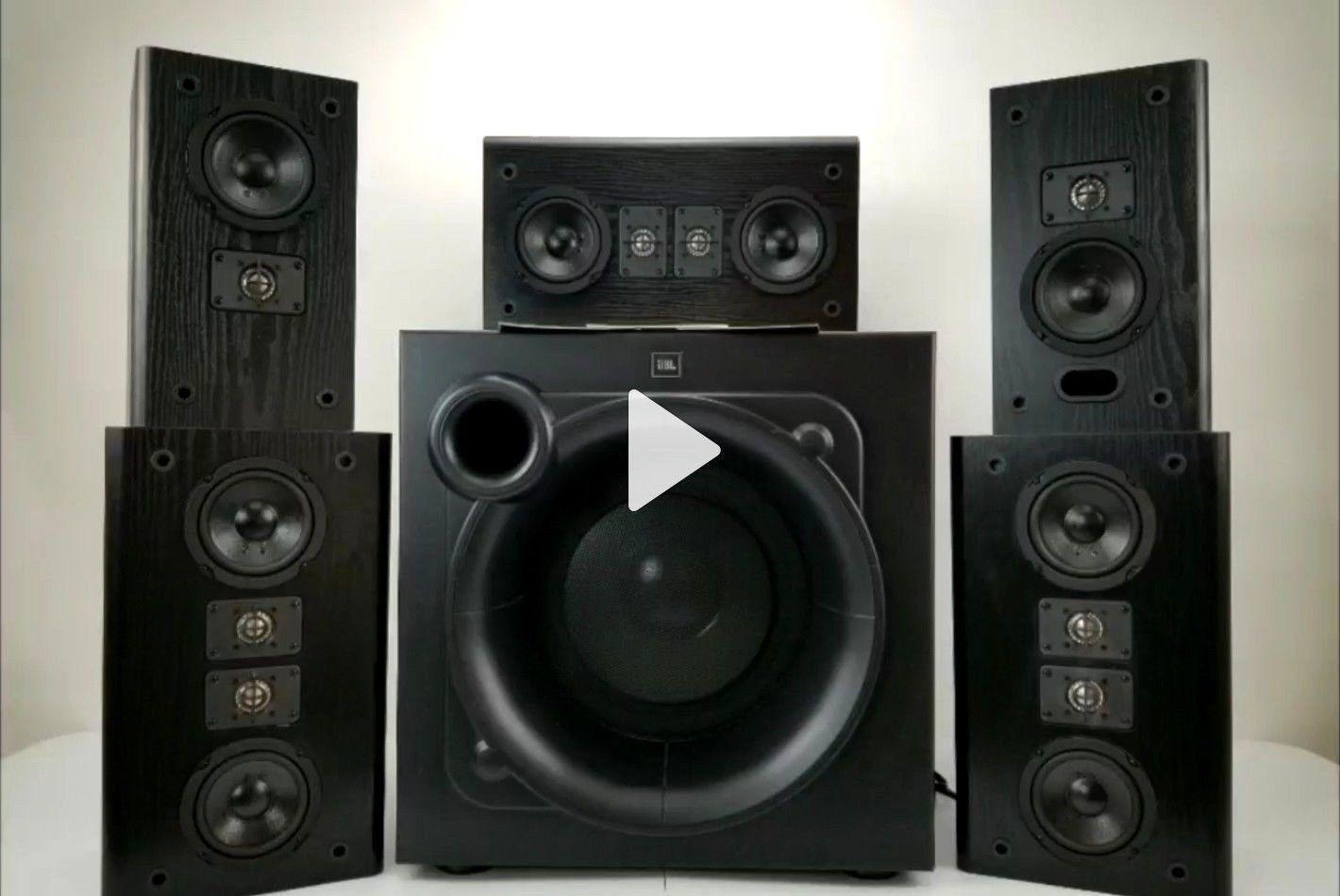 Super Clean JBL THX Certified HT Series Surround Sound System - WATCH VIDEO
