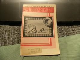 3# Vintage The Workbasket Knit/Crochet and Craft Magazine July, 1961 - $5.93